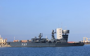Picture ship, Yaroslav The Wise, guard, visit, the port of Ceuta