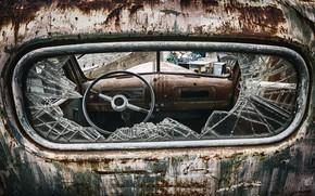 Picture machine, the wheel, scrap