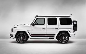 Picture Mercedes-Benz, side view, AMG, G-Class, Gelandewagen, G63, Lumma Design, 2019, LUMMA CLR G770