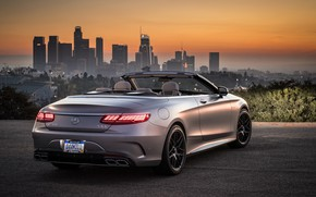 Picture Mercedes-Benz, Los Angeles, AMG, Los Angeles, 2018, Cabriolet, 4MATIC, S63