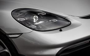 Picture Headlight, Porsche, Spyder, Porsche 718, 2019, Porsche 718 ( 982 ) Spyder