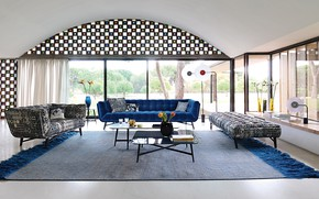 Picture room, interior, living room, Roche Bobois, OS Feature