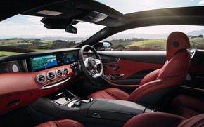 Picture Mercedes-Benz, salon, AMG, Coupe, 2018, 4MATIC, S63