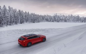 Picture winter, Concept, snow, trees, speed, Kia, universal, 2015, Sportspace