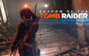 Wallpaper fire, hair, Tomb Raider, Lara Croft, traps, Shadow of the Tomb Raider