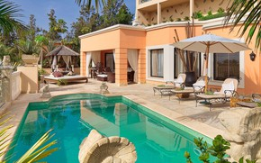 Picture Villa, pool, architecture, Spain, terrace, Tenerife, Royal Garden Villas & Spa