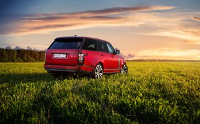 Picture auto, red, Range Rover SV Autobiography Dynamic