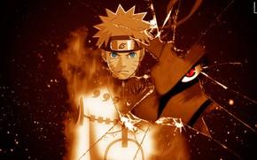 Picture look, Naruto, Naruto, Uzumaki Naruto, Kurama