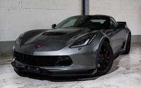 Picture wheels, corvette, black, chevrolet, z06