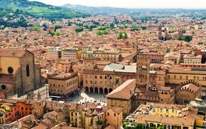 Picture home, Italy, panorama, Bologna