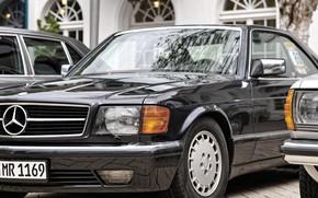 Picture car, Mercedes, black