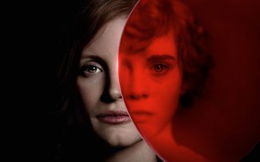 Picture Jessica Chastain, Jessica Chastain, Sophia Did Lillis, Sophia Lillis, It Chapter Two, It 2