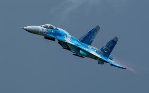 Picture Fighter, Ukraine, The fast and the furious, Su-27, Ukrainian air force