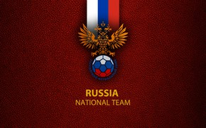 Picture wallpaper, sport, logo, Russia, football, National team