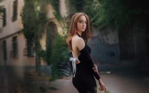 Picture ass, Girl, dress, Alexander Drobkov-Light, Victoria Rhine
