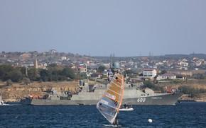 Picture The black sea, Sevastopol, MRK, Грайворон
