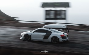 Picture Microsoft, Audi R8, game, Forza Horizon 4, by Wallpy