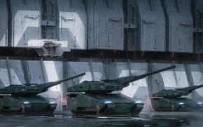 Picture Soldiers, Soldiers, Art, Tank, Art, Tanks, Game, Tank, Transport, Star Citizen, Crusader, Science Fiction, Game …