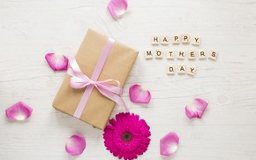 Picture flower, gift, Mother's Day