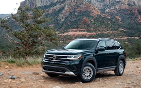 Picture Volkswagen, package, SUV, Atlas, 2020, Basecamp, appearance