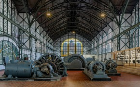 Picture Germany, Museum, mechanisms, Dortmund, Zeche Zollern