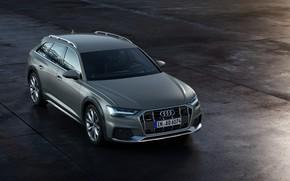 Picture Audi, plate, Quattro, universal, 2019, A6 Allroad