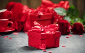 Picture tape, roses, gifts, Valentine's day, serving, Natalia Klenova