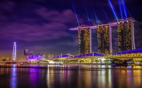 Picture lights, lighting, Singapore, illumination