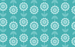 Picture flowers, background, vintage, vintage, pattern, floral, seamless