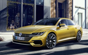 Picture machine, the building, Volkswagen, Arteon