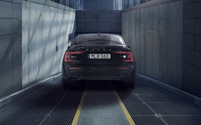 Picture Volvo, rear view, 2018, S60, Polestar Engineered