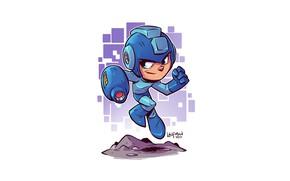 Picture game, Mega Man, Derek Laufman