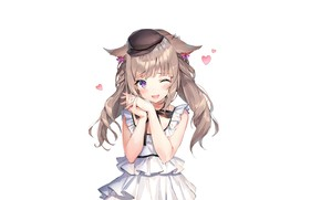 Picture smile, girl, Final Fantasy XIV