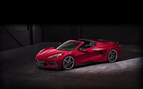 Picture Corvette, Chevrolet, Wheel, Lights, Drives, Stingray, Sports car, 2020, Chevrolet Corvette ( C8 ) Stingray