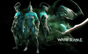 Picture warrior, soldiers, character, Warframe