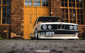 Picture Car, Bmw, White, Tuning, Low