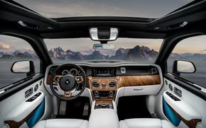 Picture Rolls-Royce, salon, 2018, Cullinan