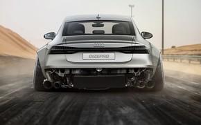 Picture Audi, Auto, Machine, Grey, Car, Audi A7, DizePro, Transport & Vehicles, Dmitry Strukov, by Dmitry …