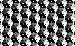 Picture background, squares, diamonds
