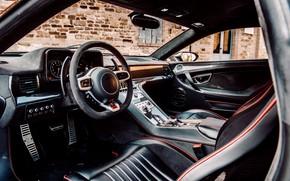 Picture coupe, the wheel, salon, V10, De Tomaso Pantera, Hurricane, Lamborghini Huracan, 2020, two-door, Project1, Panther …