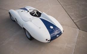 Picture Ferrari, Classic, The wheel, Classic car, 1955, Sports car, Ferrari 750 Monza Spyder
