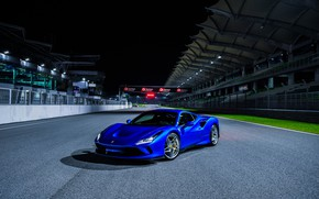 Picture Ferrari, supercar, racing track, 2019, Tribute, Ferrari F8