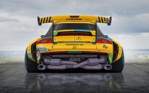 Picture Figure, Machine, Tuning, Drift, Drift, Art, Art, Porsche 911, Machine, Tuning, Illustration, Drawing, Illustration, Transport …