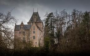 Picture Landscape, Castle of Montjardin, Long exposure