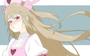 Picture look, girl, dissatisfaction