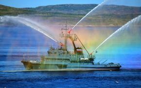 Picture parade, Navy, Severomorsk