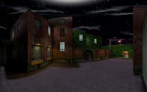 Picture night, Half-Life, Counter Strike, cs 1.6, Counter Strike, cs_backalley