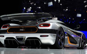 Picture coupe, Koenigsegg, hypercar, One 1