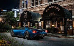 Picture Ford GT, supercar, cafe, Grand Turismo