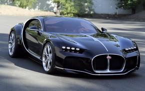 Picture car, bugatti, atlantic
